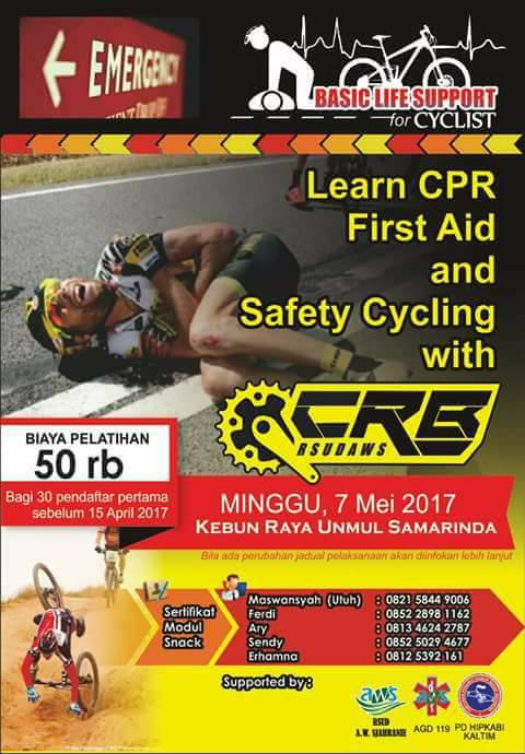 Basic Life Support For Cyclist with CRB