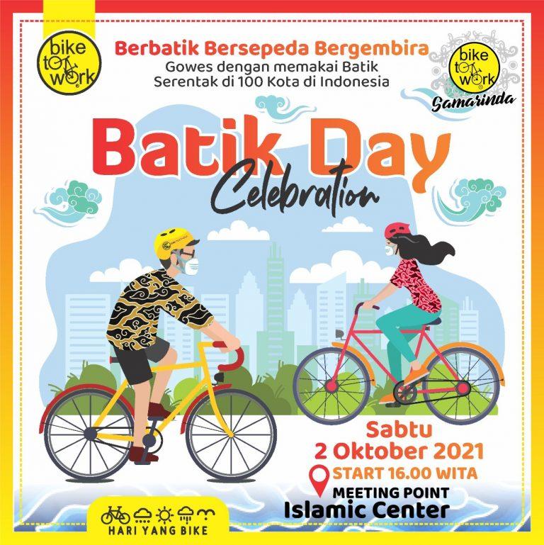 B2W Samarinda Batik Day Celebration 2021