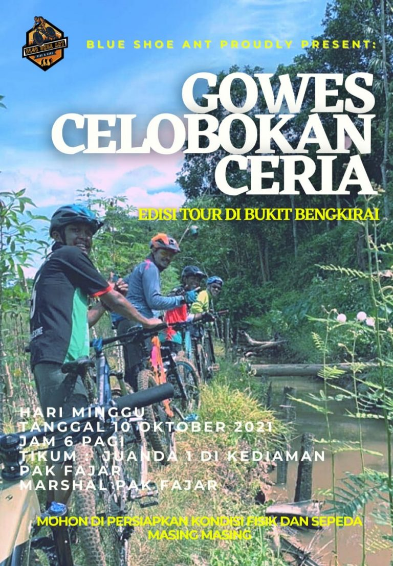 Blue Shoe Ant: Gowes Celobokan Ceria Edisi Tour Di Bukit Bengkirai